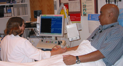 EMG - electomyography test for neuromuscular disorders