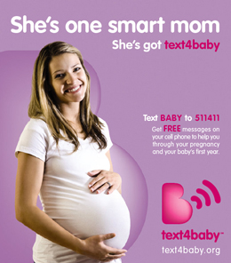 Text for Baby Pregnant Mom